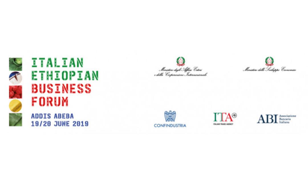MISSIONE IMPRENDITORIALE A GUIDA POLITICA – ADDIS ABEBA 19-20 GIUGNO 2019
