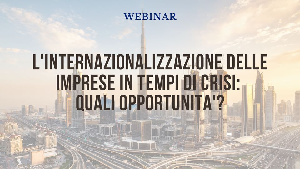 Webinar. Guarda il video!