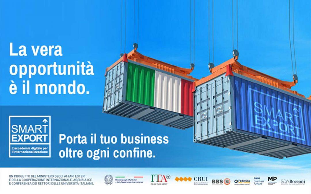 Con Smart Export porta il tuo business oltre ogni confine